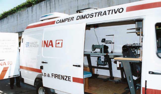Camper dimostrativo Bernina